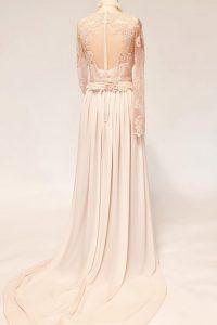 18 Vintage Kleid hinten Spitze Petra