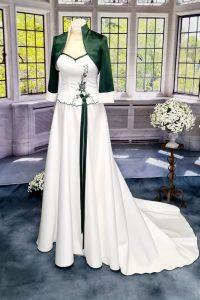 Braut Tracht grüm 4