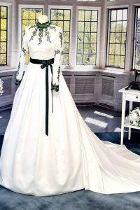 Braut Tracht grün 1