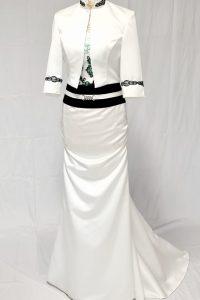 Braut Tracht grün 2
